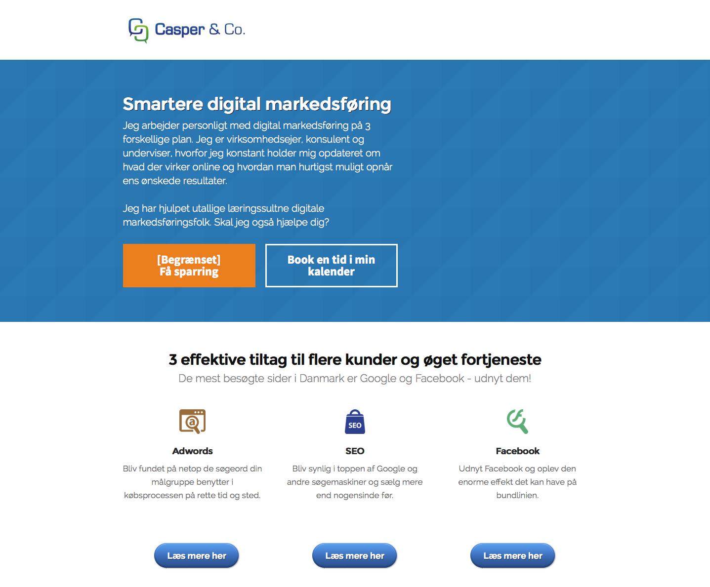 casperfrederiksens nye website